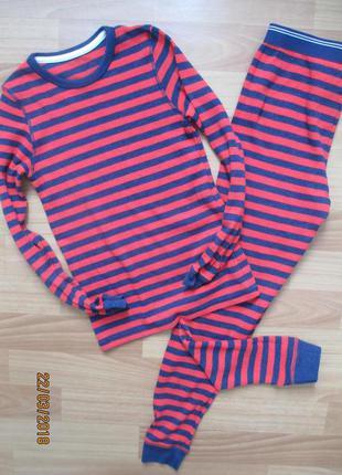 Тёпленькая пижамка marks&spencer на 11-12 лет