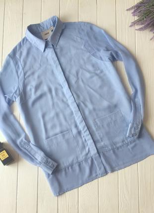 Блуза голубого цвета asos
