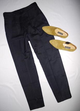 Классические брюки из тонкой шерсти на талию . новые ( ателье)
