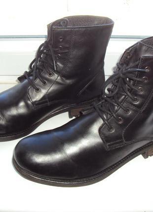 Демісезонні шкіряні черевики redherring 44 р.
