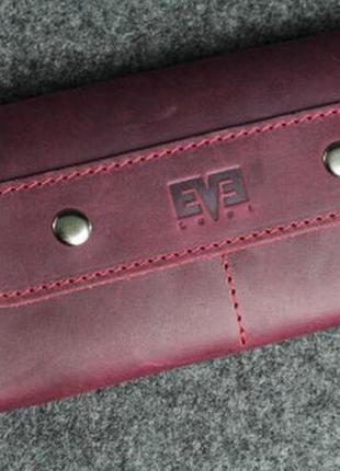 Кожаный кошелек портмоне ручная работа level