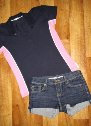 Стильный летний комплект: футболка и шорты moto, рост 164-170 см