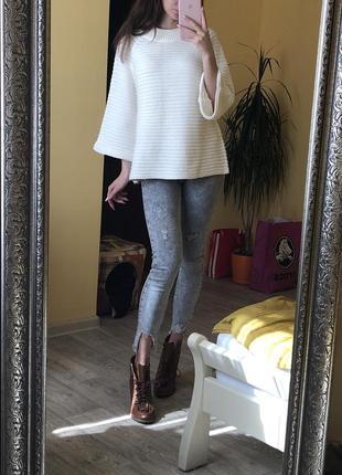 Вязаный джемпер оверсайз свитер