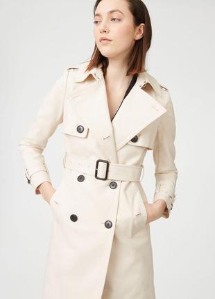 На 80% дешевле от цены сайта !! пальто-тренч от бренда club monaco