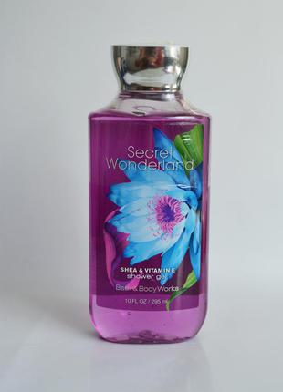 Гель для душа bath and body works shower gel – secret wonderland