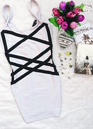 Короткое платье сарафан