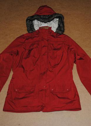 Barbour теплая куртка с мехом
