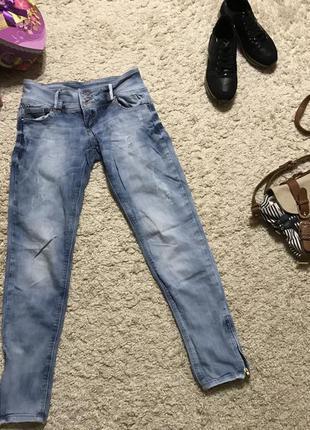 Світлі джинси -варьонки