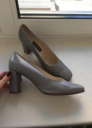Кожаные туфли bally оригинал