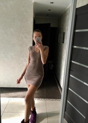 Базовое платье шерстяное