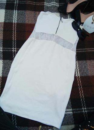 Біле плаття коротке б.у