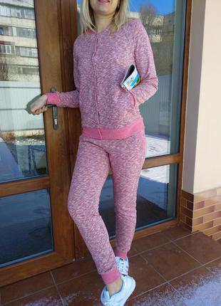 Весенний спортивный костюм для мамы и дочки family look, фемили лук