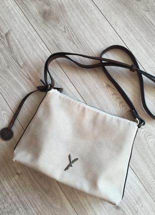 Фирменная немецкая   сумка  крос- боди на плече suri frey германия