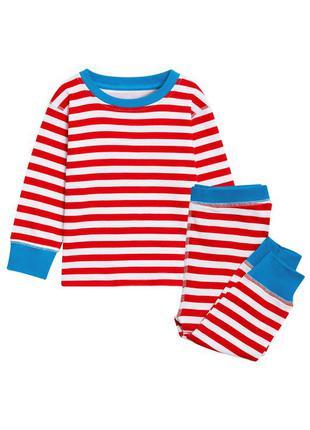 Хлопковая пижама в полосочку на 2-3 года 98 см рост некст next