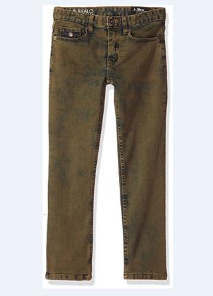 Трендовые джинсы брюки buffalo david bitton на мальчика 8 лет