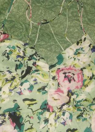 Летний сарафан в пол длинное платье