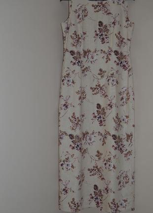Платье laura ashley лен и хлопок