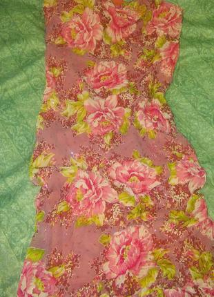 Сарафан миди платье летнее