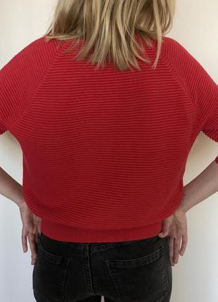 Приятный ягодный свитерок befree fashion