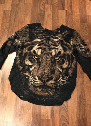 Красивая кофта тигр!