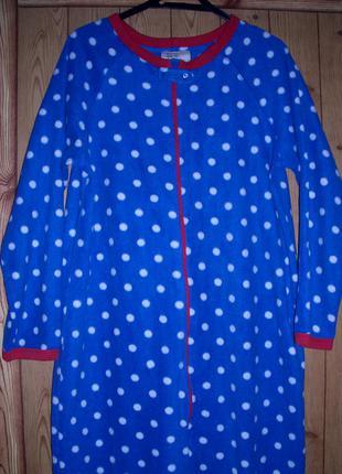 Love to lounge пижама-слип флисовая, женская, размер s-рост до 165 см