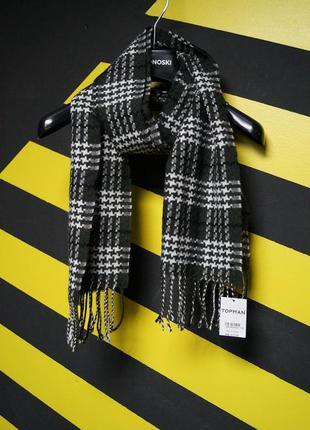 Классический шарф в узорах