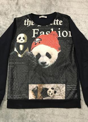 Крутой свитшот с пандой