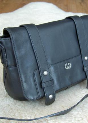 Актуальная кожаная сумка через плечо gerry weber германия