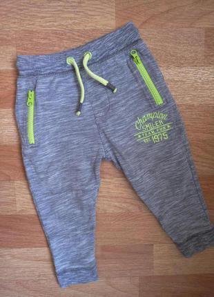 Штаны,  штанишки, спортивки с начесиком george на 18-24 мес, 1,5-2 года