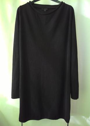 Стильное брендовое платье cos 100% шерсть, размер s