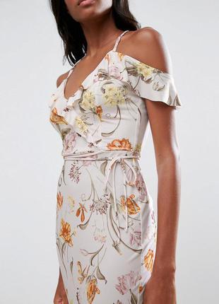 Asos чарівна сукня на бретелях квітковий принт