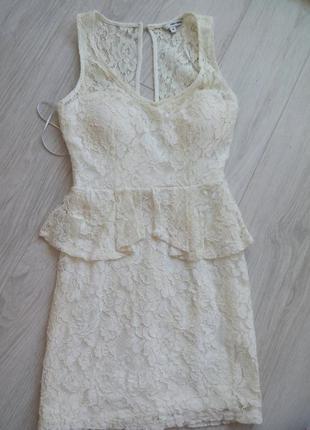 Кружевное платье от tally weijl