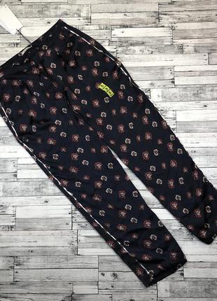 Нереально стильные атласные укороченные штаны в стиле пижамы, брюки узкие