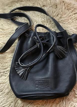 Кожаная сумка jack wills