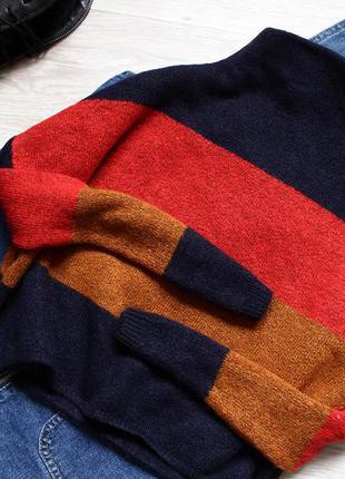 Очень приятній и стильній свитер идеального сочетания цветов new look