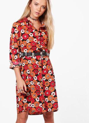 Шикарное платье рубашка brave soul