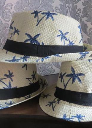 Соломенные шляпы  54-58 см