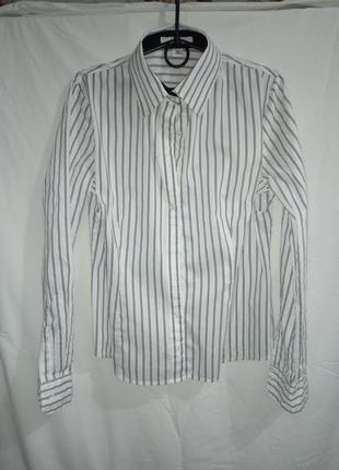 """Рубашка """"h&m"""" в полоску белая"""