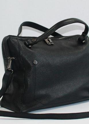 Стильная женская сумочка натуральная кожа италия