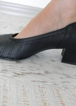 Легкие кожаные французские туфли 39-40р.