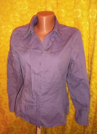 Рубашка приталенная, манжет удлиненный р. м - street one
