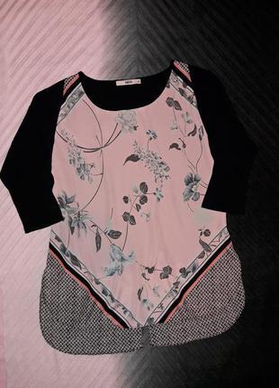 Нежная блуза с рисунком