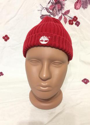 Timberland стильная шапка бини в стиле монатик оригинал брендовая