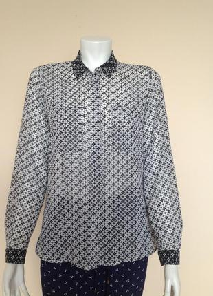 Шифоновая рубашка tom tailor