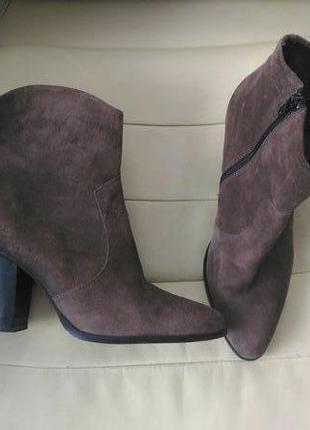 Кожаные ботинки jones bootmaker 39-40p