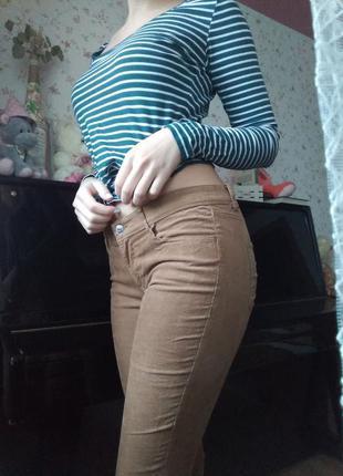 Вельветовые штаны h&m