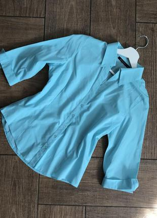 Блуза небесного цвета от atmosphere