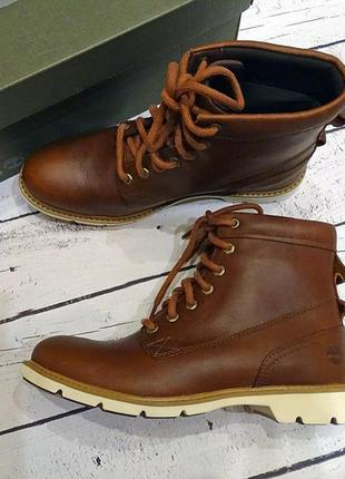Ботинки водонепроницаемые кожаные timberland оригинал 38.5