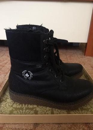 Зимняя обувь ботинки rieker 37р.