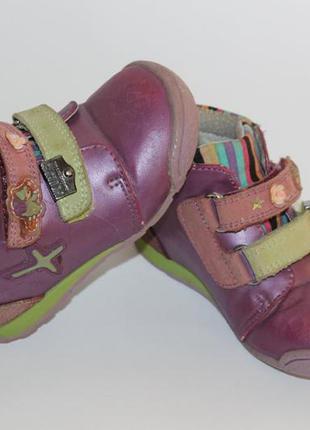 Кожаные деми ботинки little deer 22 р
